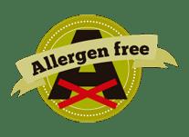allergen free PRODUCTS pork